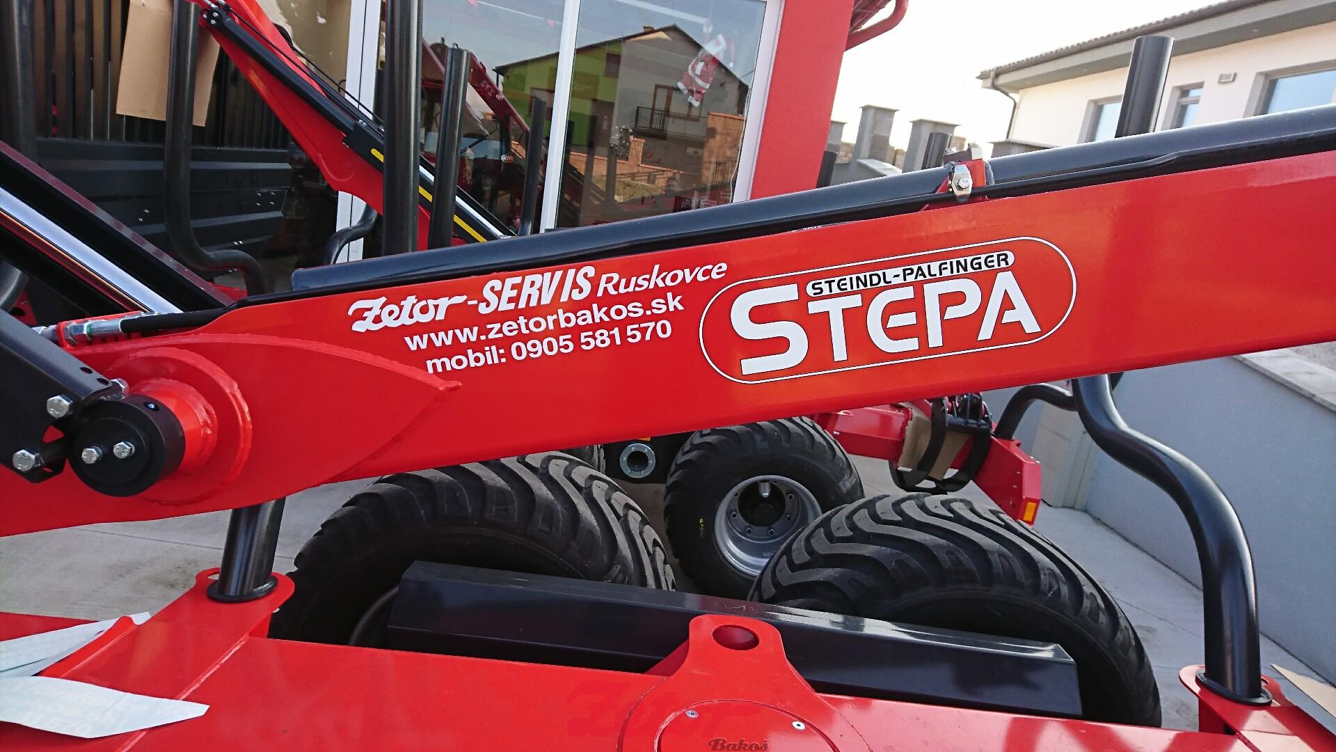 Vyvážacie prívesy Stepa